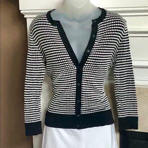 Black & White cardigan sweater